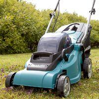 Makita DLM380Z 18v / 36v Cordless Lithium Battery Lawn Mower + DUR181 Strimmer