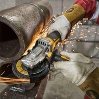 Dewalt DCG405FN 18v XR Brushless Cordless 125mm Flathead Angle Grinder + Tstak