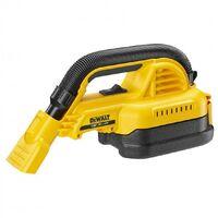 DeWalt DCV517N XR Handheld 18v Wet and Dry Cordless Vacuum + Nozzles Body Only