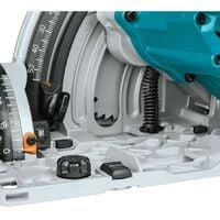 Makita DSP600Z 36v Twin 18v Brushless Plunge Cut Circular Saw 1x Guide Rail