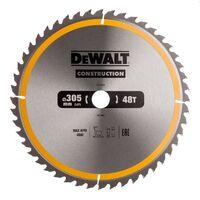 DeWALT DT1959 Stationary Construction Circular Saw Blade 305 x 30mm x 48T