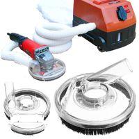 Outil électrique de meuleuse à main d'angle de couverture de carénage de poussière de meulage sec