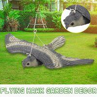 Faux volant faucon faucon chasse aux oiseaux leurre dissuasif effaroucheur jardin suspendu décor