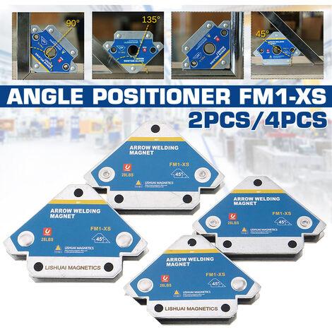 Dispositif de soudage de position magnétique de fixateur de positionneur de soudage (FM1 / XS (4pcs))