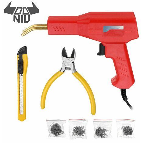 DANIU pratique plastique-soudeur outils de Garage agrafeuses chaudes Machine agrafe PVC plastique Machine de réparation voiture pare-chocs réparation agrafeuse chaude