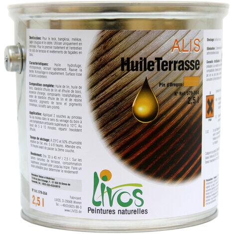 022-BUIS - 2.5L - SATURATEUR BOIS NATUREL TERRASSE ALIS (1L/12M2 EN 2 COUCHES) LIVOS - 022-Buis