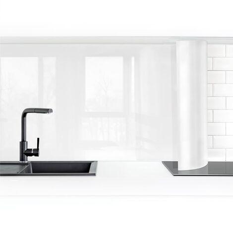 Küchenrückwand - Polarweiß Größe HxB: 50cm x 50cm Material: Smart
