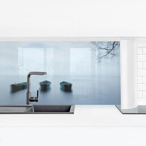 Küchenrückwand - Ruhe auf dem See Größe HxB: 40cm x 140cm Material: Smart