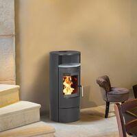 Poêle à bois ELSA 7KW - Acier
