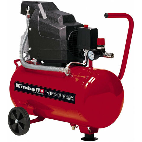 Compresor de aire 24L 8bar Einhell TC-AC 190/24/8