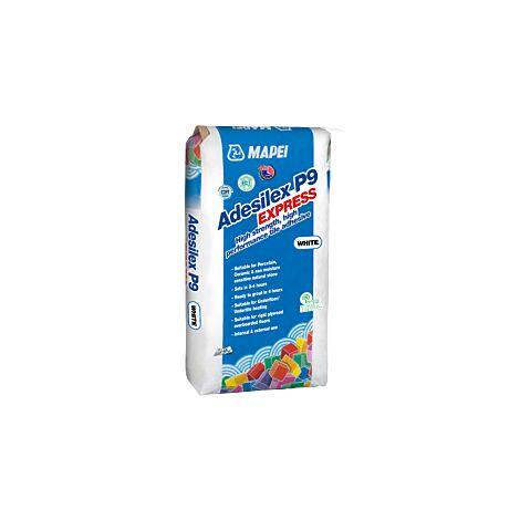 Saco Cemento Cola Adesilex P9 Express 20kg Blanco