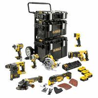 Power Kit 8 Herramientas batería Dewalt DCK853P4