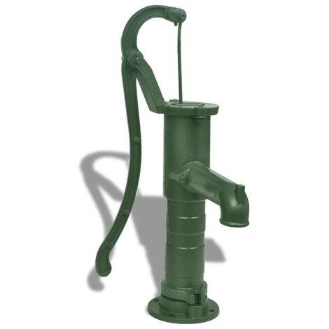 Hommoo Pompe à eau manuelle de jardin Fonte HDV26381