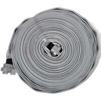 Hommoo Tuyau d'incendie plat 20 m avec raccords D-Storz 1 pouce HDV03816