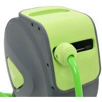 Hommoo Enrouleur mural automatique pour tuyau rétractable 20+2 m HDV05783
