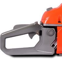 Compact Petrol Chainsaw 52cc 2-stroke engine 2.1HP 20'' guide bar.
