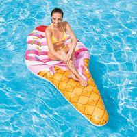 Bestway poltrona gonfiabile galleggiante per piscina mare trasparente 43097//tr