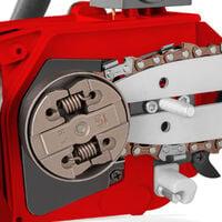 Tronconneuse GS250X-CARVING moteur à essence 2 temps 25cc 1,4cv. Épée de 10 pouces. Nombre de dents 60. Guidon ergonomique. Harnais d'épaule - Greencut