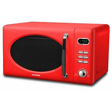 TELEFUNKEN - Micro ondes Grill MWRR20G - Rouge