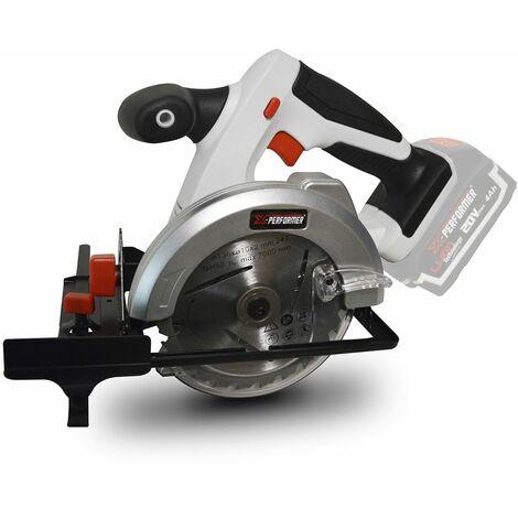 Scie circulaire à batterie 20V MAX X-Performer XPCS20LI - 0-45° - lame: 136 mm ( 24 dents) - sans batterie ni chargeur