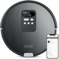 ZACO V85 Robot Aspirateur Laveur - Autonomie 130min - Réservoir 750ml - Puissance 22W