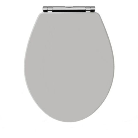 WC Sitz und Deckel für klassisches WC ABBOTT grau