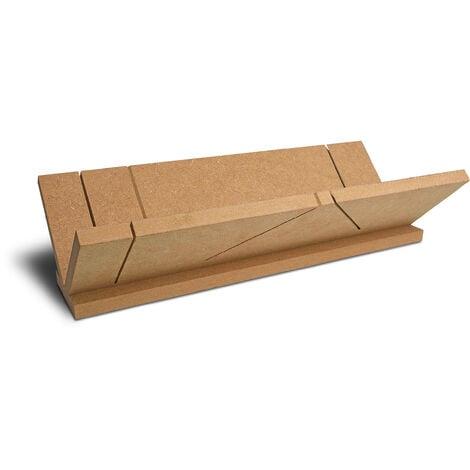 Boîte à coupe pour angle, matériau : aggloméré, 1 pce