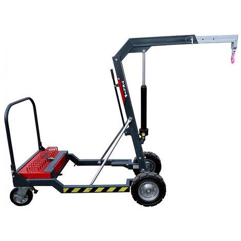 Potence mobile pour chantier - Cap. 450kg - Portée 1000mm