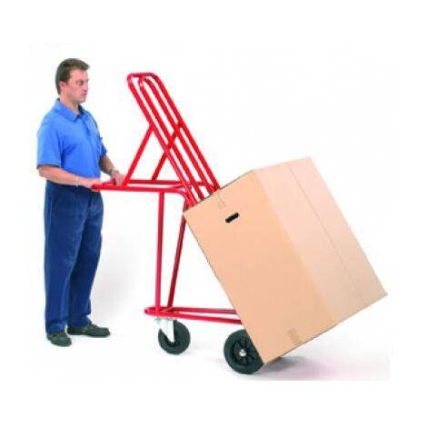 A. Diable pour magasins d'ameublement et déménagement - roues pneumatiques