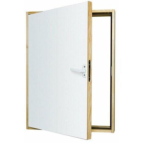 E. Trappe de comble standard 68.4x88.4cm - Ouverture de mur nécessaire : 70x90cm