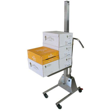 Gerbeur inox - Charge 80kg / Hauteur 1400mm