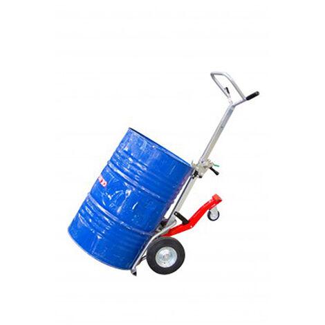 A. Diable palettiseur / depalettiseur manuel - Fûts 60; 120; 200 litres - 350kg