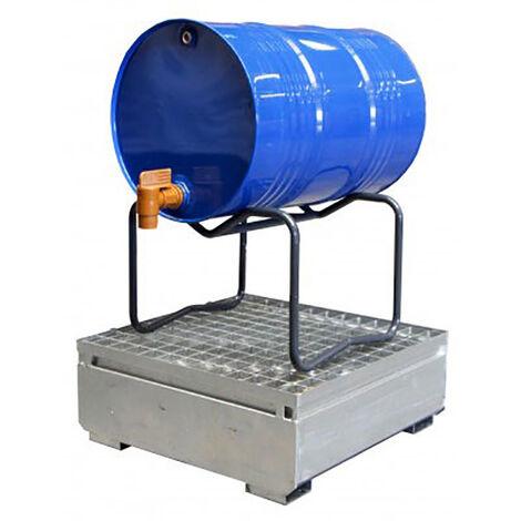 A. Support de soutirage pour fûts métal ou plastique - 1 fûts 60 à 220 litres