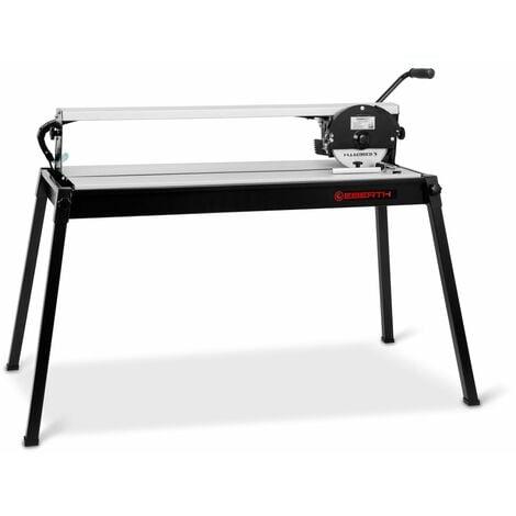 900 mm Coupe carrelage électrique avec Laser (Pivotant progressivement jusquà 45°, 25 mm Profondeur de coupe, Disque en diamant) Coupe carreaux Machine à découper
