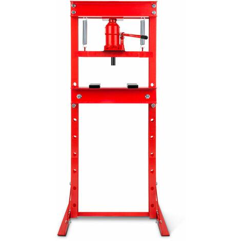 20 T Presse hydraulique datelier (635 mm Hauteur de travail, Réglable 8 niveaux, 425 mm Largeur de travail)