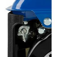 750 Watt Générateur électrique (2 CV Moteur à essence 2 temps, Refroidi à lair, 1x 230 V, 1x 12 V, Voltmètre) Groupe électrogène