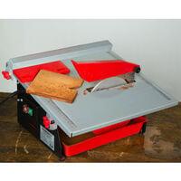 600 Watt Coupe carrelage électrique (Pivotant progressivement jusquà 45°, 180 mm Disque en diamant, Bain deau) Coupe carreaux Machine à découper