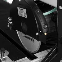 1020 mm Coupe carrelage électrique avec Laser (1500 watts, pivotant progressivement jusquà 45°, 52 mm profondeur de la découpe à 90°, 45 mm profondeur de la découpe à 45°, 250 mm disque en diamant)