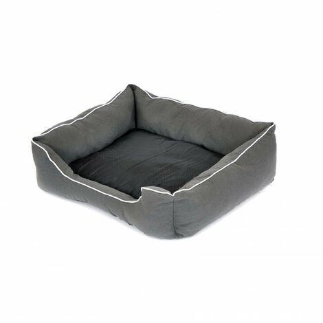 Oypla Deluxe Plush Soft Moisture Proof Medium Dog Bed Basket 50x60cm