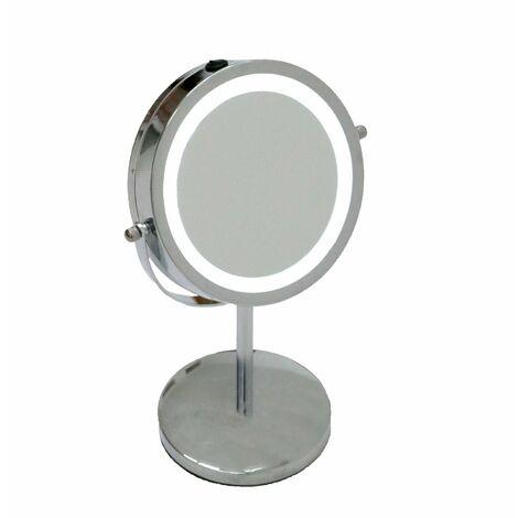 Oypla 5x Magnifying Illuminated LED Makeup Cosmetic Shaving Mirror