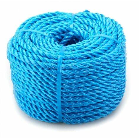 Oypla 10mm x 30m Blue Heavy Duty Poly Rope Coils Polypropylene PP