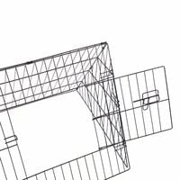 "Oypla 48"" Metal Triangle Rabbit Guinea Pig Pet Hutch Run Cage Playpen"