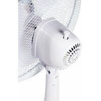 """2 x Oypla Electrical 16"""" Oscillating Pedestal Electric Cooling Fans"""