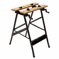 Oypla Folding Foldable Trestle Work Bench Workbench Portable 100kg