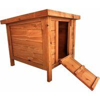 Oypla Tortoise Guinea Pig Rabbit Hutch Cat House 400x490x430mm