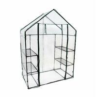 Oypla 3-Tier 4 Shelf Mini Walk-in Growhouse Garden Greenhouse