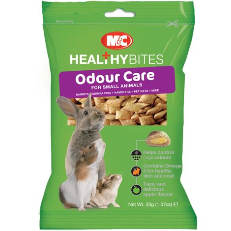 Healthy Bites Odour Care For Small Animals (30g) (May Vary)