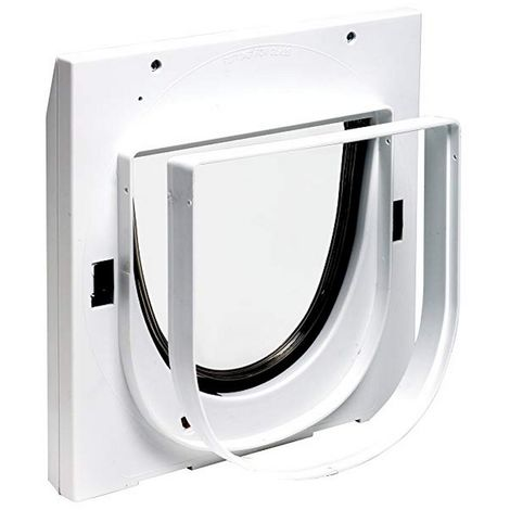 Staywell No.940 Cat Flap Extension Tunnel (One Size) (White)