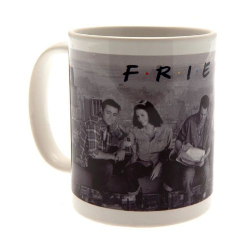 Friends Official Boxed Ceramic Mug (One Size) (Grey)