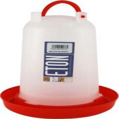 Eton Locking Drinker With Handle (3L) (Red/Transparent)